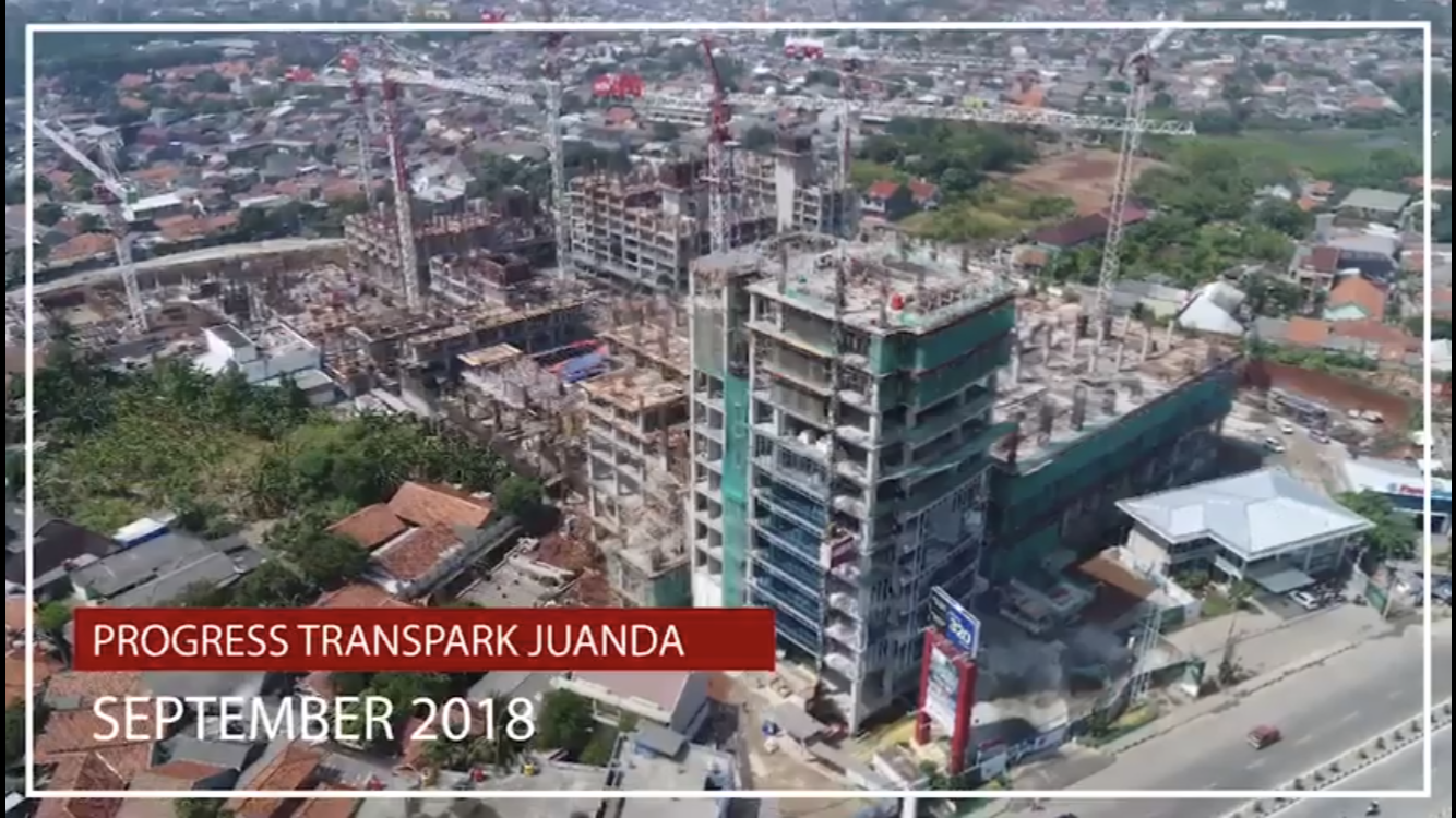 progress trans park bekasi september 2018